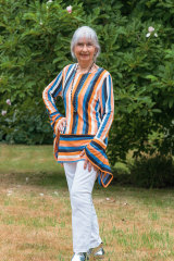 Ruth Cooper keeps her fashion sense young at heart.