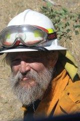 RFS volunteer Alastair Breingan.