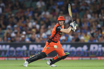 The Scorchers will be in action in the Big Bash.