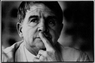 Then-Australian head swimming coach Don Talbot in 1992.