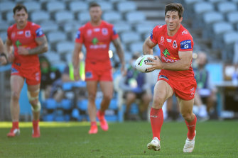 Ben Hunt in the match against the Warriors at the weekend.