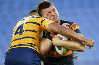 Jai Arrow doesn't want Sunday's 46-6 hammering against the Eels to be his final Titans memory.