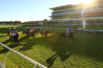 Racing is on the Kenso at Randwick on Wednesday.