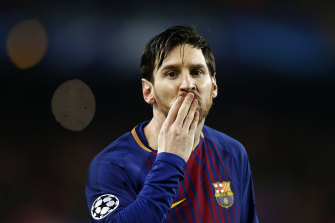 Lionel Messi is Barcelona's all-time top scorer.