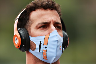 Daniel Ricciardo qualified 12th in Monaco.