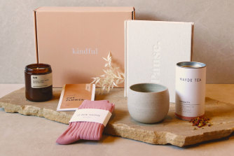 One of the Kindful Gifts bundles, featuring Australian products.