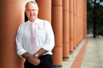 Former Kings School principal Dr Tim Hawkes.