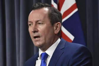WA Premier Mark McGowan does not agree with Scott Morrison's foreign vision.