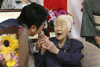 Kane Tanaka was confirmed as the world's oldest person in March.