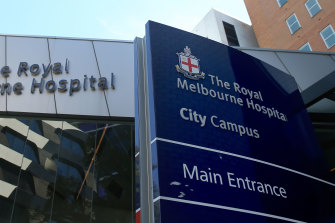 Two senior nurses in the emergency department at The Royal Melbourne Hospital have tested positive to the virus overnight.