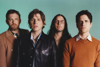 The future of music? Nashville rockers Kings of Leon are selling their new album via a digital token.
