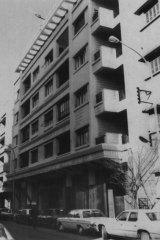The Australian Embassy in Beirut, February 1984.