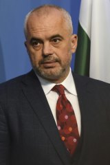 Albanian Prime Minister Edi Rama was previously a Paris-based artist.