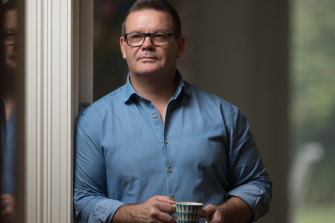 Former MasterChef judge Gary Mehigan at his Melbourne home.