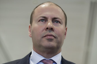 Treasurer Josh Frydenberg.