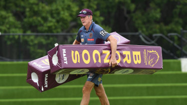 Packing up: Wayne Bennett is heading south.