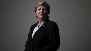 Dr Megan Clark, Chief of the Australian Space Agency.