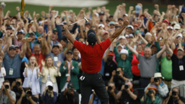 Woods' victory at this year's Masters capped a remarkable return to the top of the sport.
