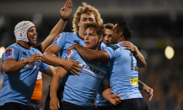 Victory for common sense: The Waratahs are set to revert to the NSW Waratahs.