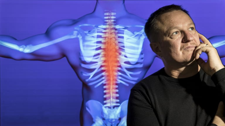 James McAuley is a leading back-pain researcher at NeuRA