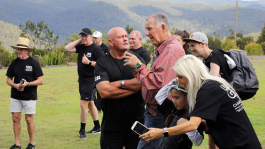 John Singleton hosting the Let's Get Going organisation at his property at Mount White.