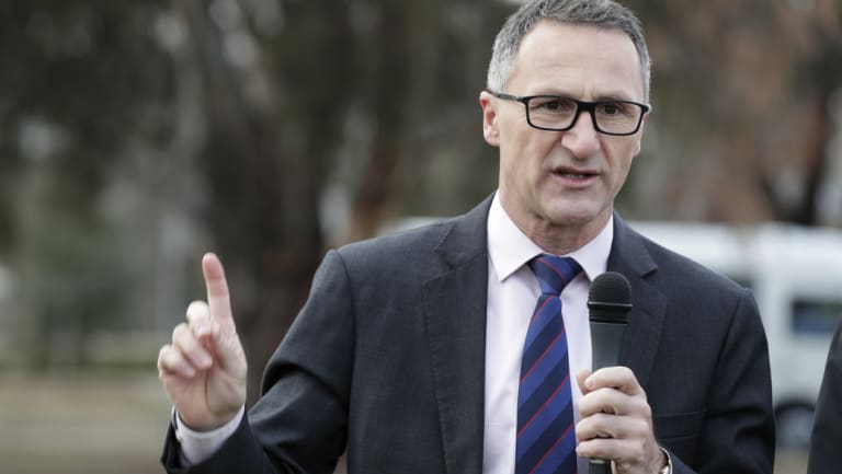 Greens leader Richard Di Natale said the move was an act of intergenerational theft.