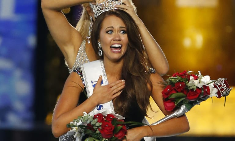 Last year's Miss America, North Dakota's Cara Mund.
