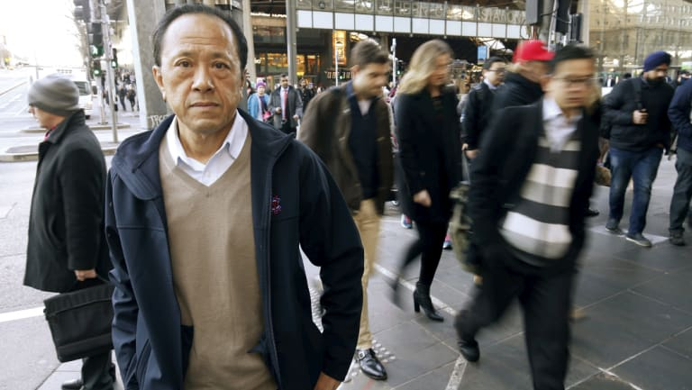 Peter Chung went 10 years without a pay rise as company profits soared.