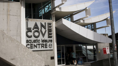 Lane Cove Acquatic Centre, where the council has recently had to close its 50-metre outdoor pool.