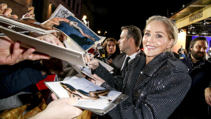 'I went to punch him in the face': Why producers don't mess with Sharon Stone