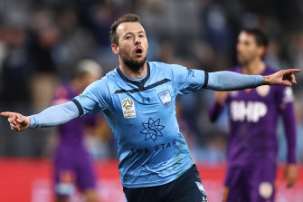 Adam Le Fondre returns to the Sky Blues after a season in India.