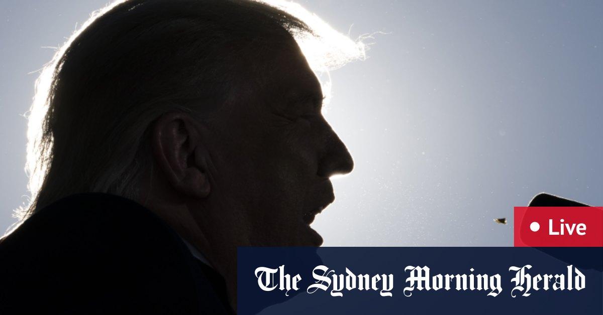 US Election 2020 LIVE updates: Joe Biden Barack Obama campaign in Michigan Donald Trump chases Pennsylvania – The Sydney Morning Herald