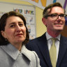 NSW Premier Gladys Berejiklian and Treasurer Dominic Perrottet.