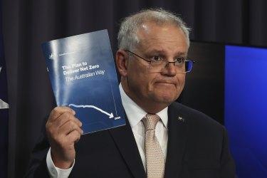 Prime Minister Scott Morrison announces his new plan to reach net zero carbon emissions by 2050.