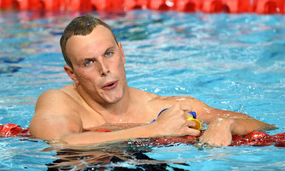 Chalmers could be Australia's lone crusader in FINA's new series