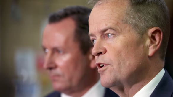 Shorten promises to end GST fight, proposes 'unity ticket' with Liberals