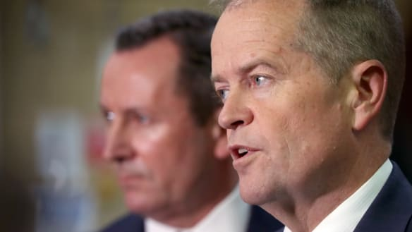 'You can't win the west from the east': Bill Shorten on the WA hustings, again