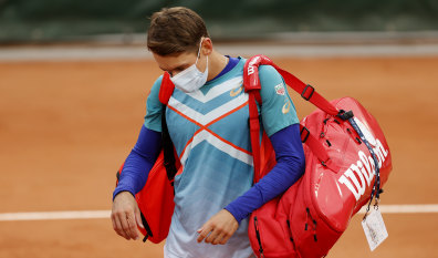 Transport bungle leaves de Minaur unable to train as ATP request 'additional support'