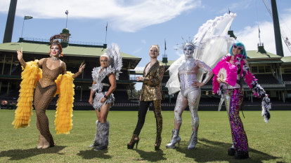 Fewer floats, more props: Mardi Gras moves from Oxford Street to the SCG