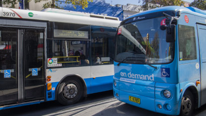 End of the line for two on-demand bus trials in Sydney amid cost concerns
