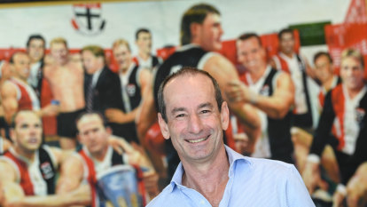No deal in place with Brad Scott: St Kilda president