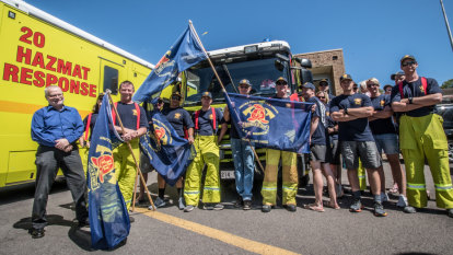 ACT firefighters to vote on industrial action after Fair Work order