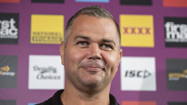 Broncos coach Anthony Seibold will keep chipping away when the NRL season resumes.