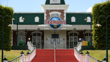 Dreamworld Theme Park on the Gold Coast, Queensland
