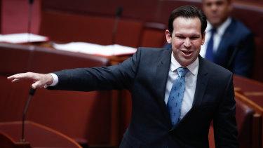 """Senator Matt Canavan will on Wednesday declare the """"mining boom is not over""""."""
