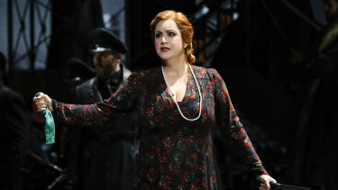 Natalie Aroyan's run as Odabella in Attila was cut short.