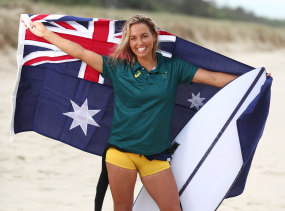 Sally Fitzgibbons is eyeing a world title and a spot at the Tokyo Olympics in 2020.