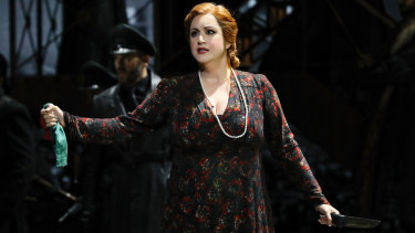 Natalie Aroyan as Odabella in Opera Australia's production of Attila, which has been cancelled.