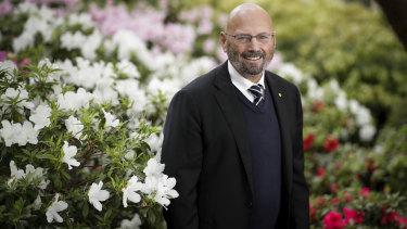 Arthur Sinodinos, the next Australian ambassador to the US, at Parliament House on  Wednesday.
