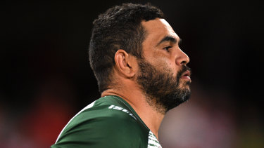 Is this the end? Greg Inglis has been weighing up his future.